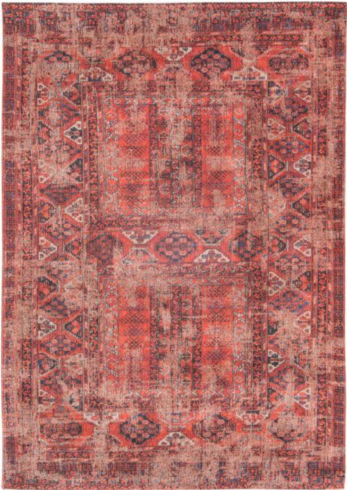 Bild: Louis de poortere Baumwollteppich Hadschlu (Red; 200 x 280 cm)