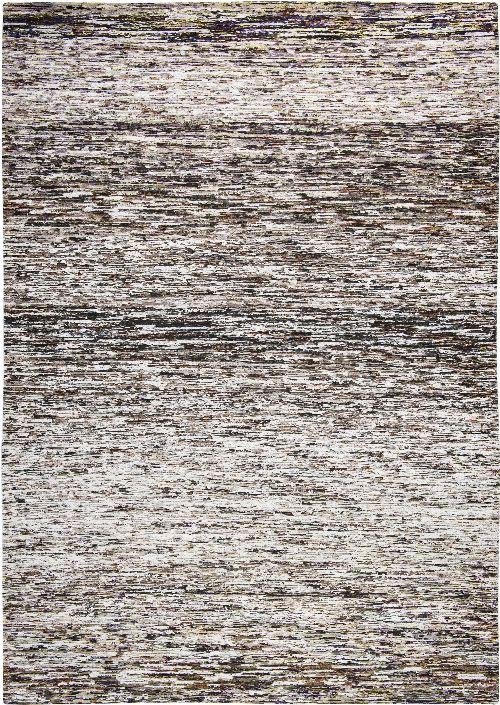 Bild: Louis de poortere Streifenteppich Tunupa (Brine and Brown; 140 x 200 cm)