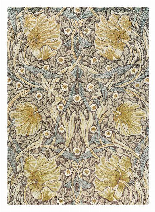 Bild: Morris & Co. Designerteppich Pimpernel (Bullrush; 200 x 280 cm)