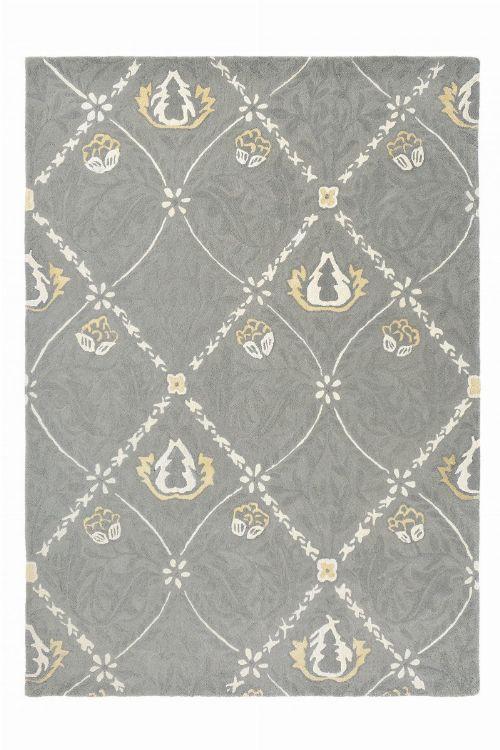 Bild: Morris & Co. Schurwollteppich Pure Trellis (Lightish grey; 250 x 350 cm)