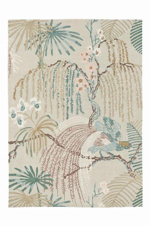 Bild: Sanderson Teppich Rain Forest 50701 (Orchid Grey; 170 x 240 cm)