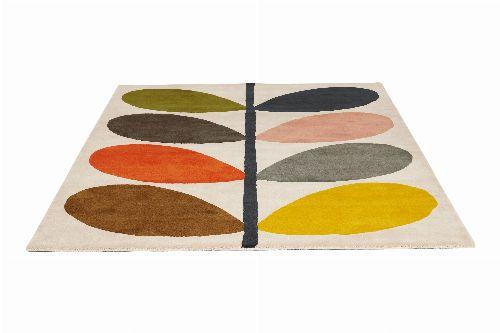 Bild: Orlay Kiely Designerteppich Giant Multi Stem (Bunt; 120 x 180 cm)