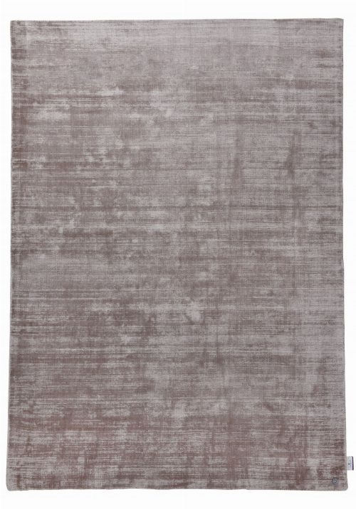 Bild: TOM TAILOR Viskose Teppich - Shine Uni (Braun; 230 x 160 cm)