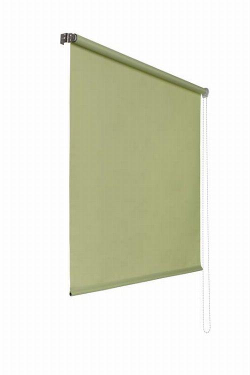Bild: Lichtdurchlaessiges Seitenzugrollo (Grün; 180 x 140 cm)