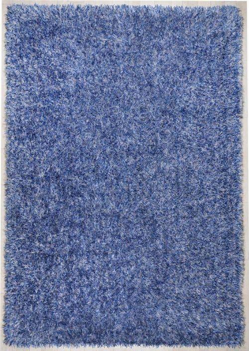 Bild: Teppich Girly Uni (Blau; 190 x 290 cm)