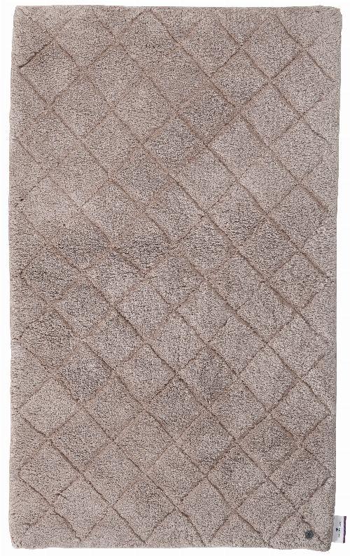 Bild: Tom Tailor Badematte Cotton Pattern (Hellbraun; 60 x 60 cm)