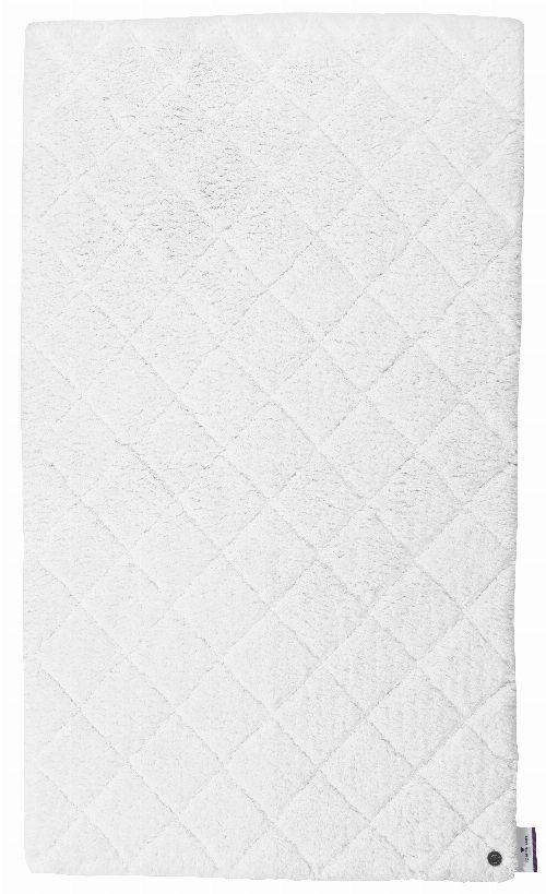 Bild: Tom Tailor Badematte Cotton Pattern (Weiß; 120 x 70 cm)
