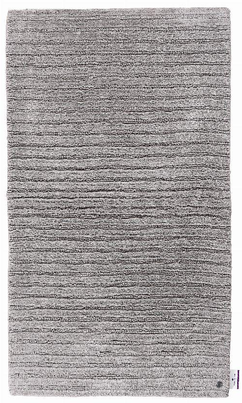 Bild: Tom Tailor Badezimmerteppich Cotton Stripe (Grau; 120 x 70 cm)