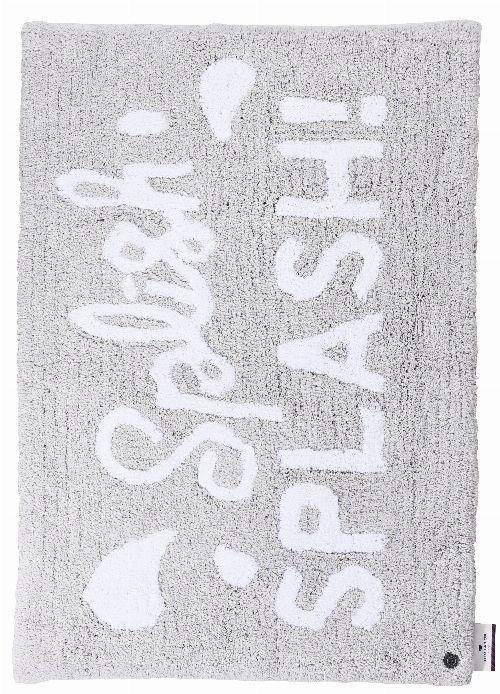 Bild: Tom Tailor Badezimmer Teppich Cotton Design - Silber (Silber; 120 x 70 cm)
