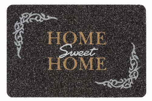 Bild: ASTRA Türmatte - Flocky Color Home Sweet Home