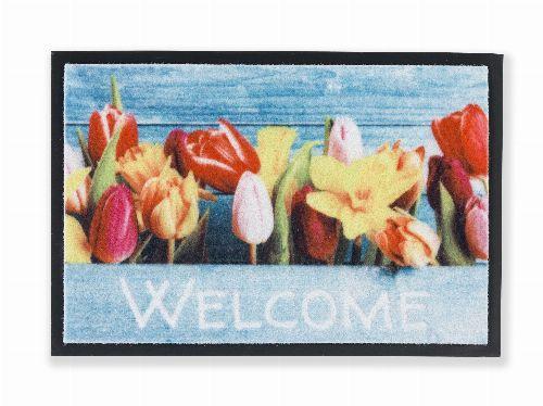 Bild: ASTRA Sauberlaufmatte - Print Blumen (Blumen)