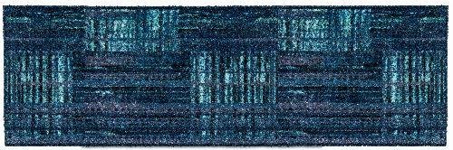 Bild: ASTRA Schmutzfangmatte - Pure und Soft Karo Streifen (Petrol; 70 x 50 cm)