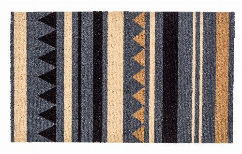 Bild: ASTRA Schmutzfangmatte - Miabella Streifen (Grau/Braun; 70 x 50 cm)