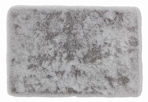 Bild: SCHÖNER WOHNEN Badematte - Bali Uni (Silber; 60 x 40 cm)