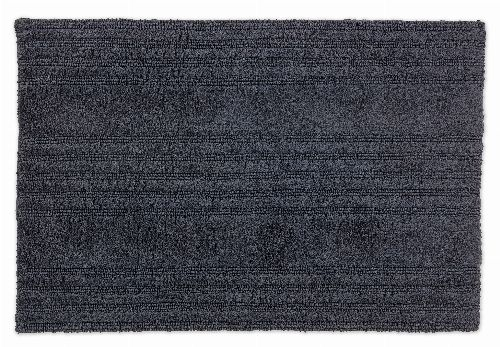 Bild: SCHÖNER WOHNEN Badematte - Bahamas Streifen (Anthrazit; 90 x 60 cm)