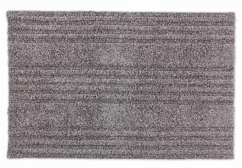 Bild: SCHÖNER WOHNEN Badematte - Bahamas Streifen (Hellgrau; 90 x 60 cm)