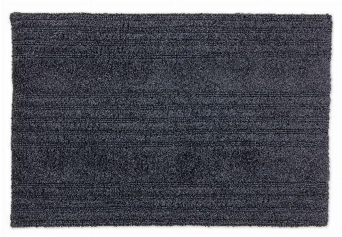 Bild: SCHÖNER WOHNEN Badematte - Bahamas Streifen (Anthrazit; 110 x 67 cm)