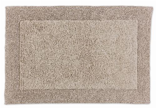 Bild: SCHÖNER WOHNEN Badematte - Bahamas Bordüre (Beige; 110 x 67 cm)