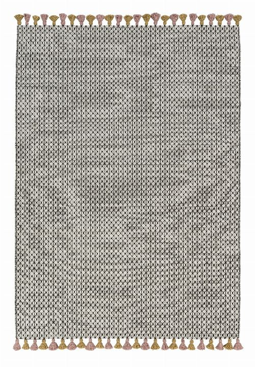 Bild: Schöner Wohnen Kelim Teppich Insula (Rosa; 240 x 170 cm)