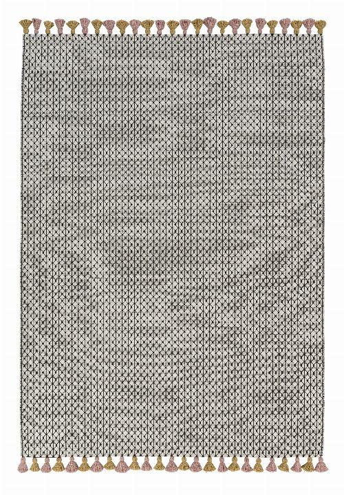 Bild: Schöner Wohnen Kelim Teppich Insula (Rosa; wishsize)