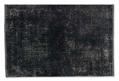 Bild: SCHÖNER WOHNEN Designteppich - Velvet Bordüre (Anthrazit; 200 x 140 cm)