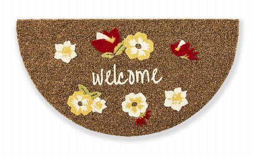 Bild: ASTRA Kokosmatte - Coco Design Blume Welcome