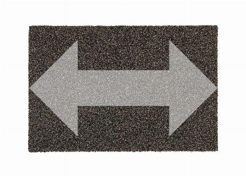 Bild: ASTRA Schmutzfangmatte Brush Line - individuelle Länge (Braun; 100 cm)