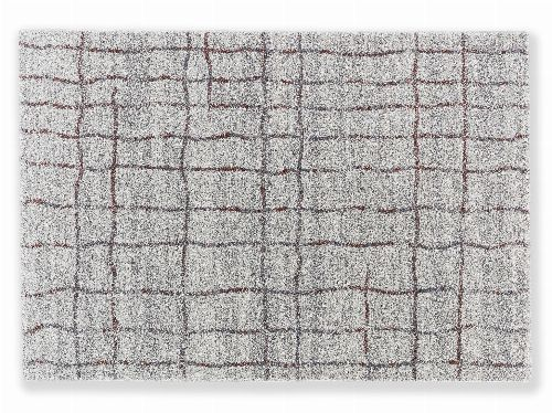 Bild: Astra Hochflor Teppich Savona - Gitter (Aubergine; 290 x 200 cm)