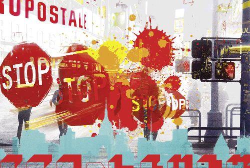 Bild: AP Digital - City Stop - 150g Vlies (5 x 3.33 m)