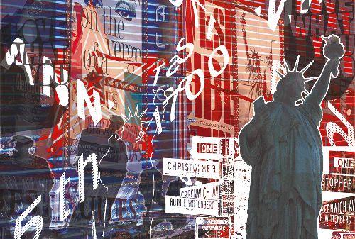 Bild: AP Digital - Lady Liberty - 150g Vlies (3 x 2.5 m)