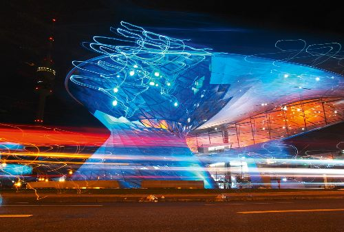 Bild: AP Digital - Munich Night Art - 150g Vlies (4 x 2.67 m)