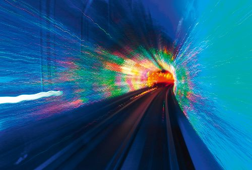 Bild: AP Digital - Blue Tube - 150g Vlies (4 x 2.7 m)