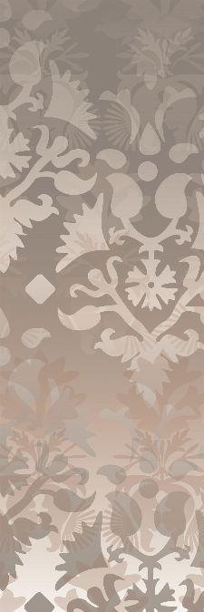Bild: AP Panel - Ornamental spirit grey and brown (Beige)