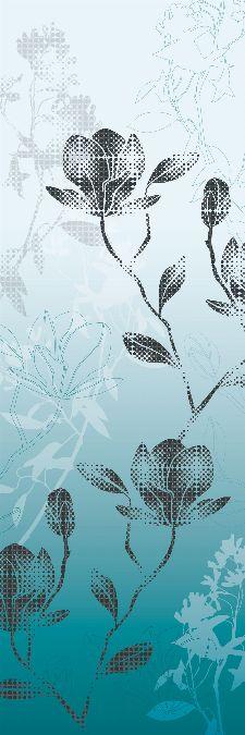 Bild: AP Panel - Mystic blossoms blue