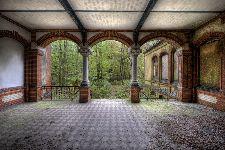 Bild: AP XXL2 - Vintage Villa Ter. - 150g Vlies (4 x 2.67 m)