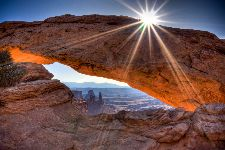 Bild: AP XXL2 - Mesa Arch - 150g Vlies (5 x 3.33 m)