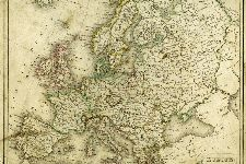 Bild: AP XXL2 - Ancient Map - 150g Vlies