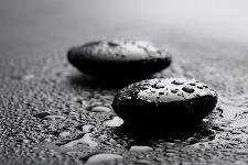 Bild: AP XXL2 - Two Black Stones - 150g Vlies (2 x 1.33 m)