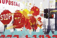 Bild: AP Digital - City Stop - SK Folie (4 x 2.67 m)