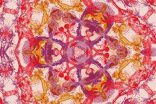 Bild: AP Digital - Blossom Pentacle - SK Folie (4 x 2.7 m)