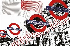 Bild: AP Digital - Underground Traf - SK Folie (3 x 2.5 m)
