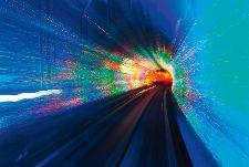 Bild: AP Digital - Blue Tube - SK Folie (4 x 2.67 m)