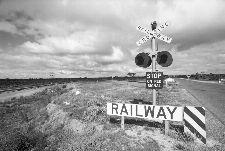 Bild: AP Digital - Crossing Railway - SK Folie (4 x 2.7 m)