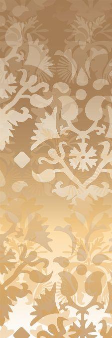 Bild: AP Panel - Ornamental spirit gold, SK-Folie (Gold)