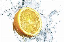 Bild: AP XXL2 - Orange In Water - SK Folie (5 x 3.33 m)