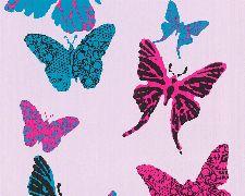 Bild: Boys and Girls 4 Papier-Tapete 936342 (Rosa)