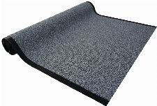 Bild: Sauberlaufmatte nach Maß Granat (Grau; 120 cm)