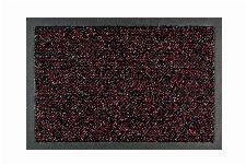 Bild: Sauberlaufmatte nach Maß Graphit - Rot