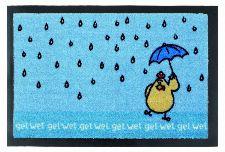 Bild: Fußmatte Jolly Design Des. 02 (Blau)