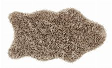 Bild: Astra Fell Teppich Mia - Shape (Braun; 80 x 55 cm)
